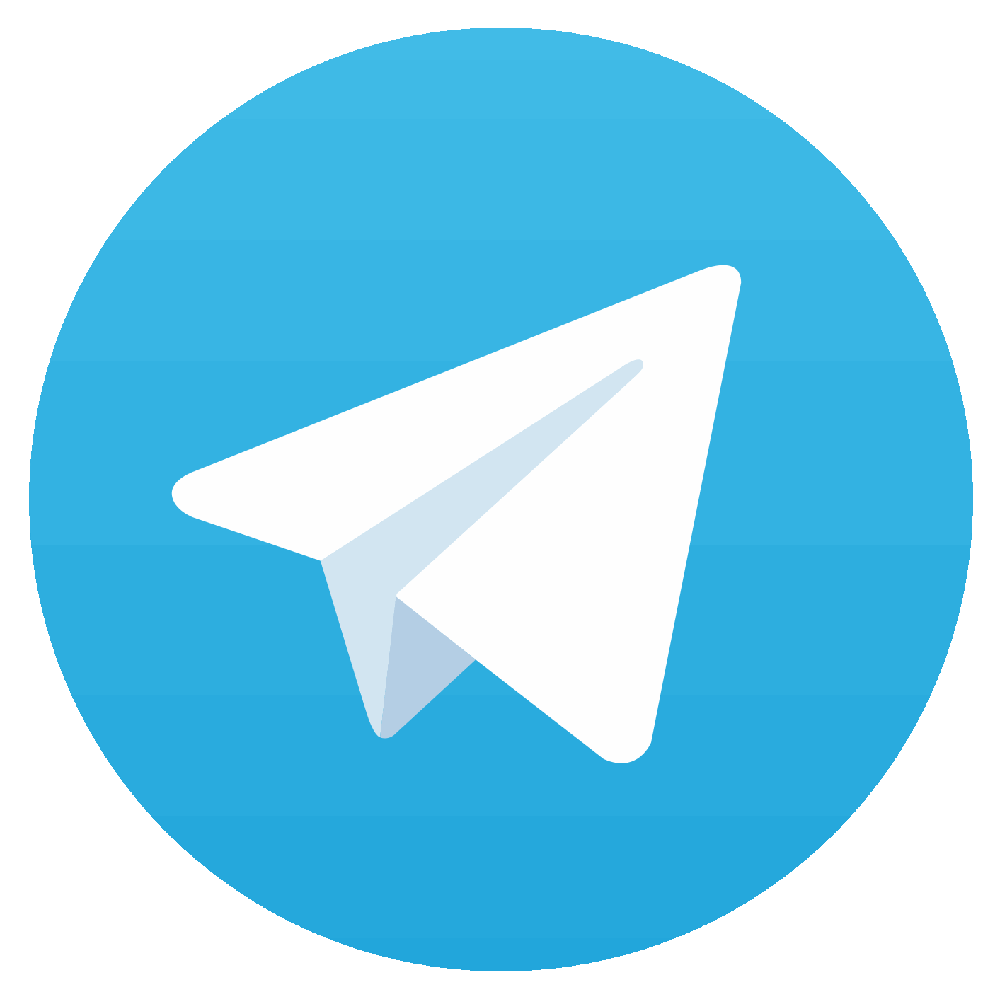 Contact us with telegram